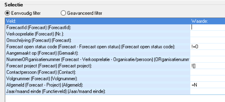 Project sluiten, forecast, AFAS STKKR